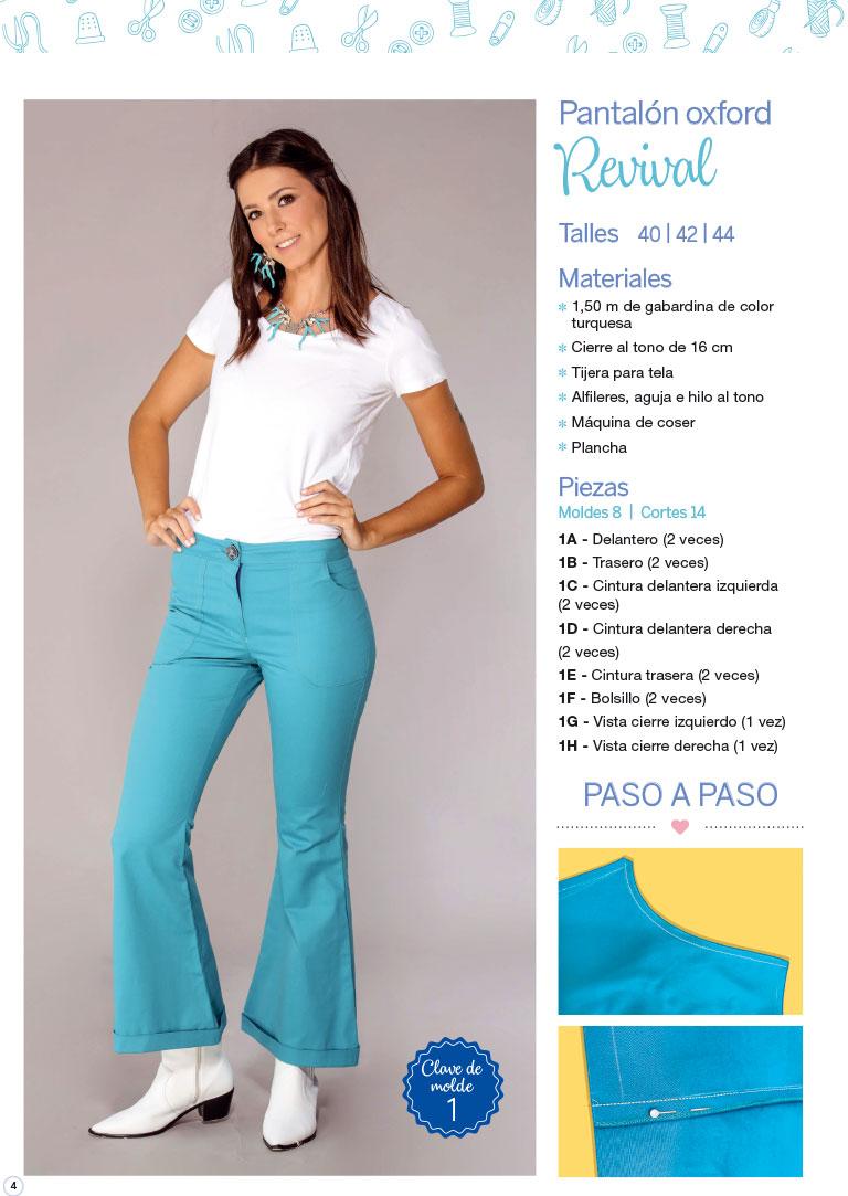 Costura Especial Pantalones Moldes A Tamano Real Tienda Arcadia